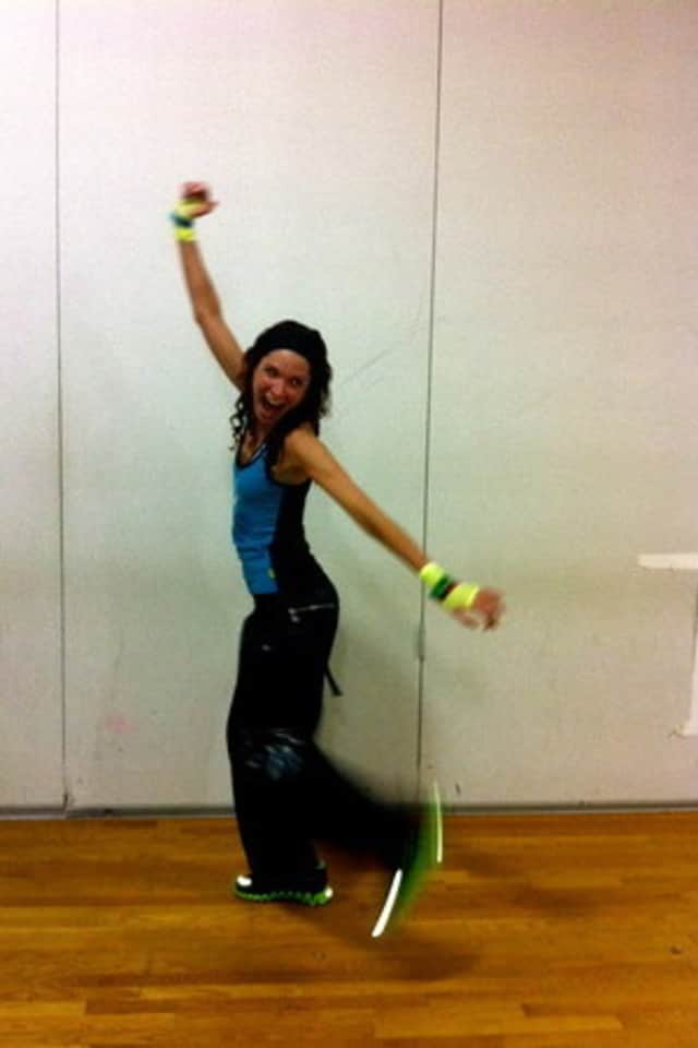 Burn up to 800 calories an hour with Zumba instructor Jen Berger this Monday at the Edge of Dance Studio in Mount Kisco.