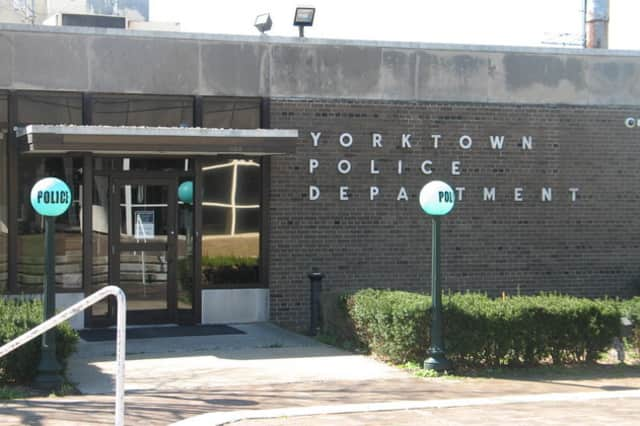 Lisa Pappas turned herself in at Yorktown Police Headquarters Thursday.