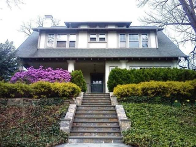 This five-bedroom home at 1289 Palmer Ave., Mamaroneck, is for sale at an asking price of $899,500. There are several open houses in Mamaroneck and Larchmont this weekend.