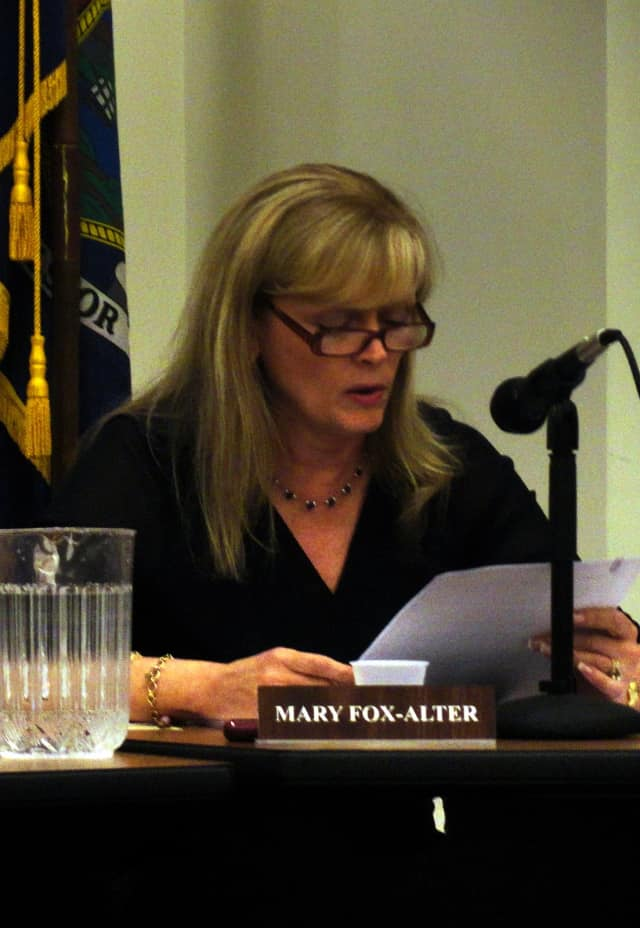 The Pleasantville Superintendent Mary Fox-Alter