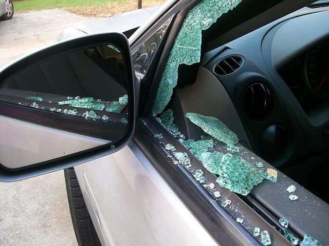 Red Hook police are warning residents to remove valuables from their vehicles following a recent break-in that involved a smashed window.