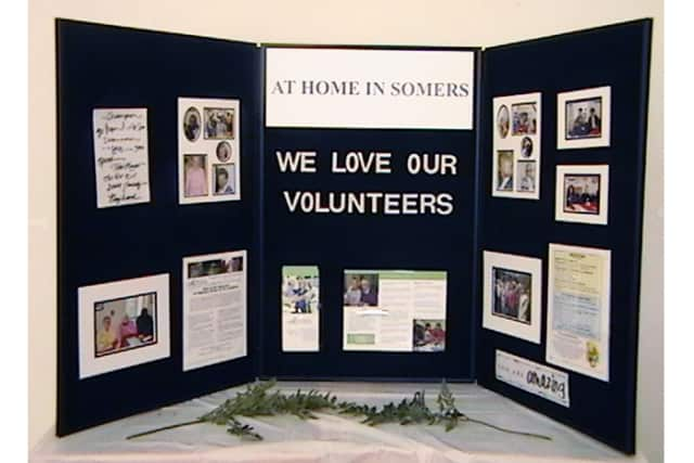 At Home in Somers seeks volunteers to help senior citizens continue to live in their homes. The group especially needs drivers, visitors, telephone responders, people to do household repairs and people who can help with computers.