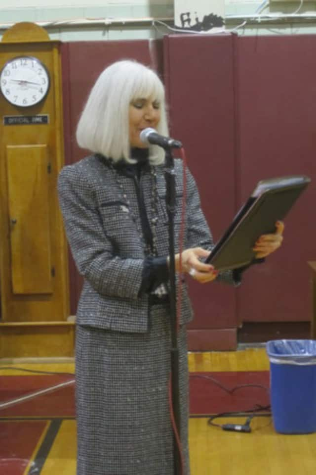 Ossining Schools Superintendent Phyllis Glassman joined 77 other superintendents calling for gun legislation.