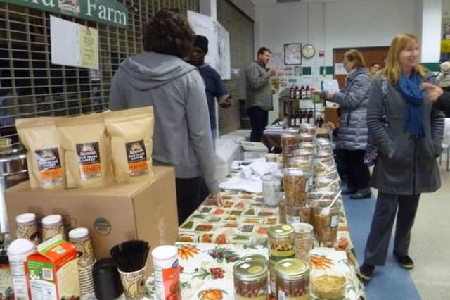 Pleasantville will host an indoor farmers market this weekend at Pleasantville Middle School.