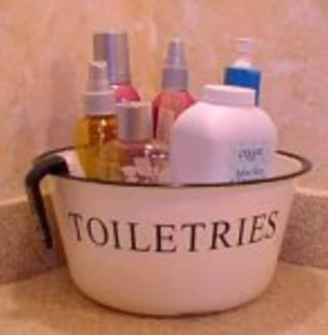 The Mount Vernon Public Library is holding a toiletry drive all week.