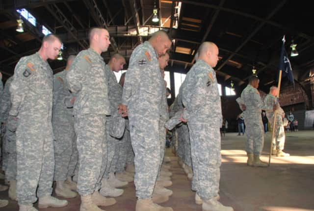 Members of the New York National Guard will mark their return and redeployment Sunday at the Peekskill Armory.