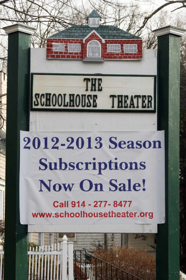 The newly renovated Schoolhouse Theater in Croton Falls opens in February.