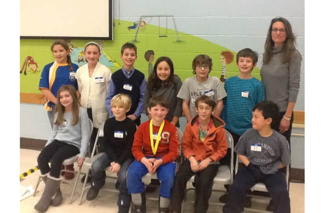 North Salem's PQ fourth-graders competed to take part in the National Geographic Bee.