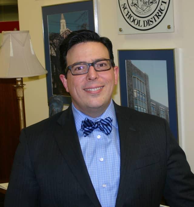 Schools Superintendent Peter Giarrizzo