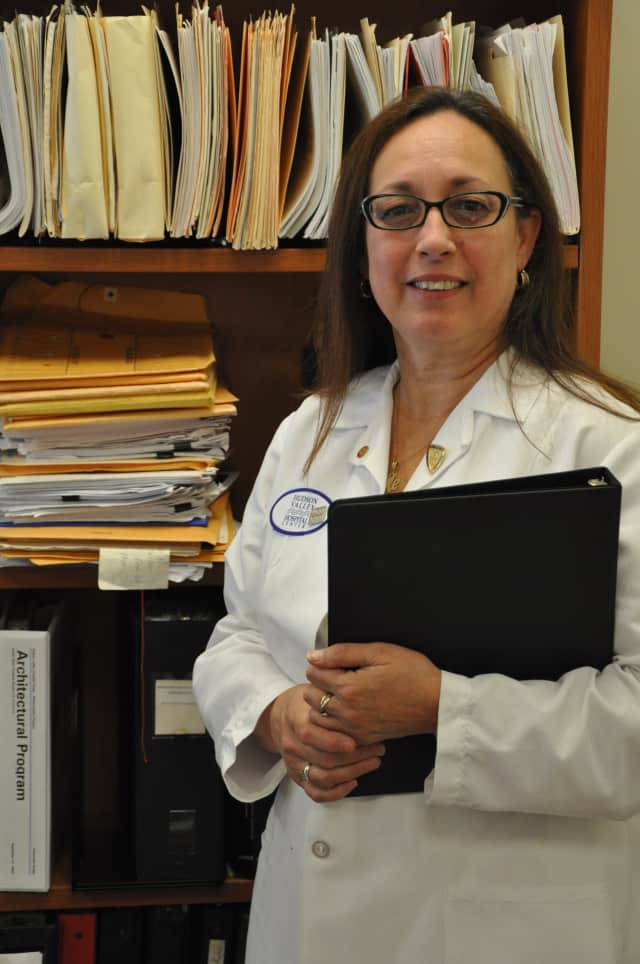Barbara Savatteri, director of infection control at Hudson Valley Hospital Center, said infection control procedures have been stepped up since the flu outbreak.