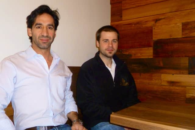 Vicente Siguenza, left, will open his new restaurant, Harvest, on Greenwich Avenue with executive chef Eben Leonard, right, in February.