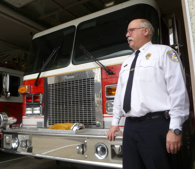 New Canaan Fire Chief Jack Hennessey said the increase in his budget for next year is due to salaries and repairs to equipment.
