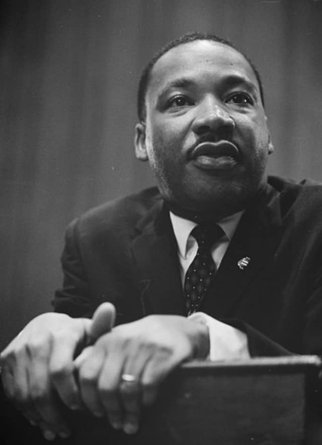 Martin Luther King Day is Minday, Jan. 18.