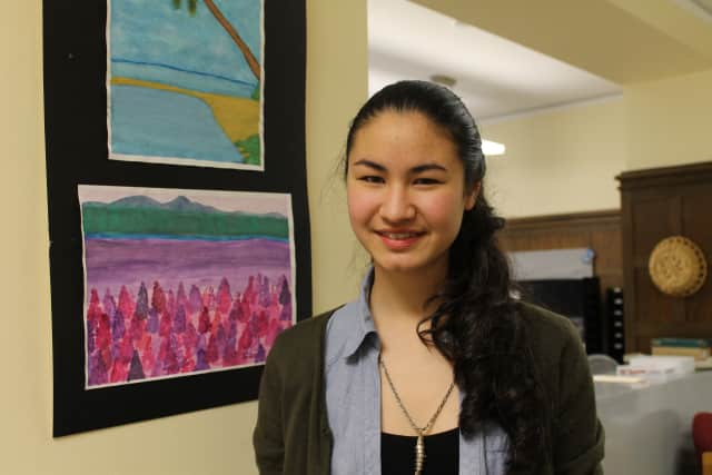 Dobbs Ferry senior Chloe Wang is a budding scientist and is a semifinalist for a national science prize.