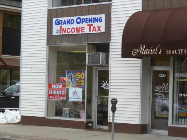South Salem resident Geraldine Cohen opened a Liberty Tax Services branch in Mount Kisco this month. Cohen is currently working with the Mount Kisco Chamber of Commerce to set a date for the ribbon cutting ceremony.