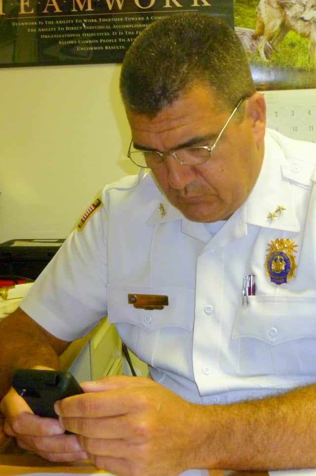 Pound Ridge Police Chief David Ryan says the economy may play a role in the increase in DWIs and domestic incidents in town last year.