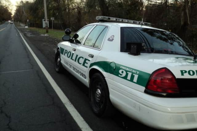 Bedford Police charged a 26-year-old Pleasantville woman with driving while intoxicated Sunday.