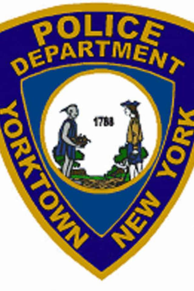 Yorktown police arrested a man for robbery on Thursday.