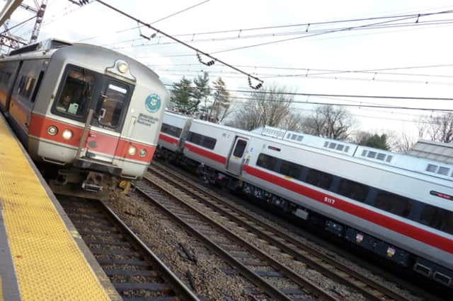 Metro-North trains were slowed by damage to the overhead caternary wires on Wednesday.