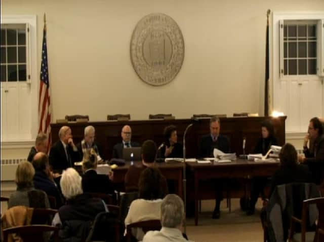 The Bedford Town Board declared Tuesday night that changes proposed for the Stepping Stones museum's parking lot will not have a significant impact on the environment. The museum's application now moves to the Zoning Board of Appeals.