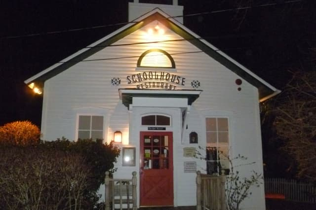 The Schoolhouse at Cannondale restaurant was named one of the best in the state by Connecticut magazine.