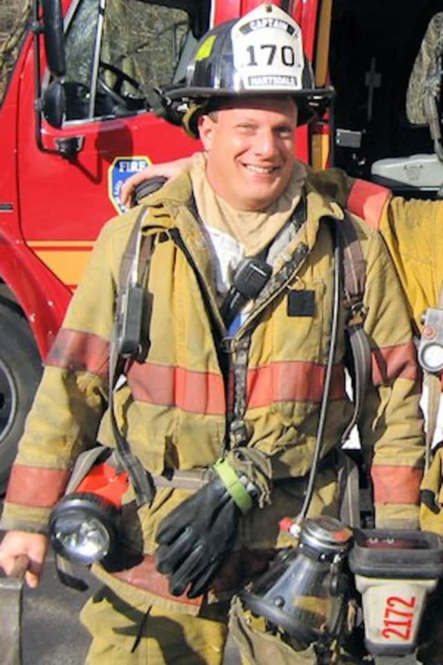 Edgemont resident Joseph Kelley, 48, died Wednesday. Kelley was a member of the Hartsdale Fire District for 18 years.