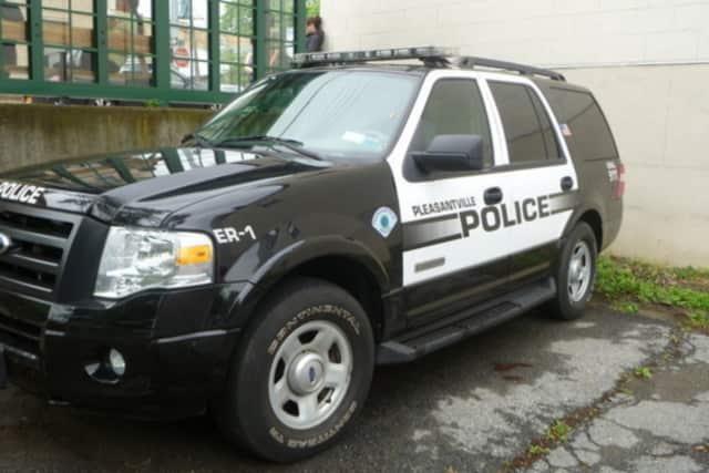 Pleasantville Police Chief Erik Grutzner said a local man and woman were injured slightly during a car crash.