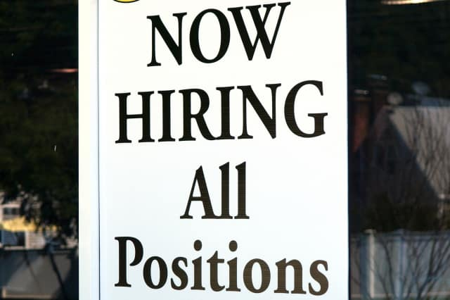 There are a number of job openings in the New Canaan area.