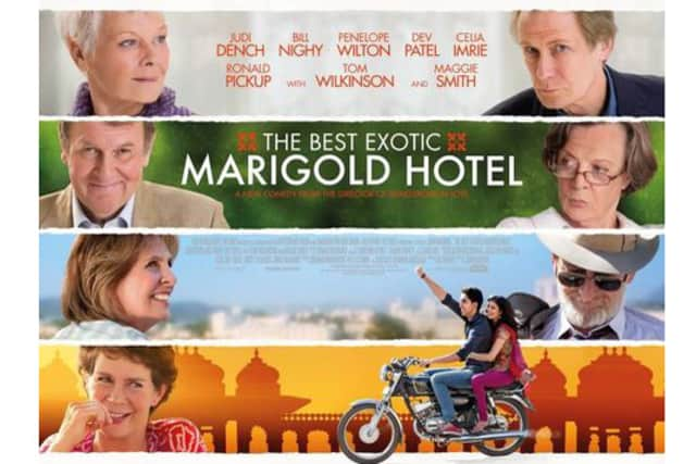 The Best Exotic Marigold Hotel is playing Friday at Somers Library.