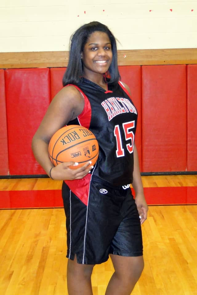 Alexander Hamilton High School girls' basketball star Maia Hood is The Greenburgh Daily Voice Athlete of the Month for January.