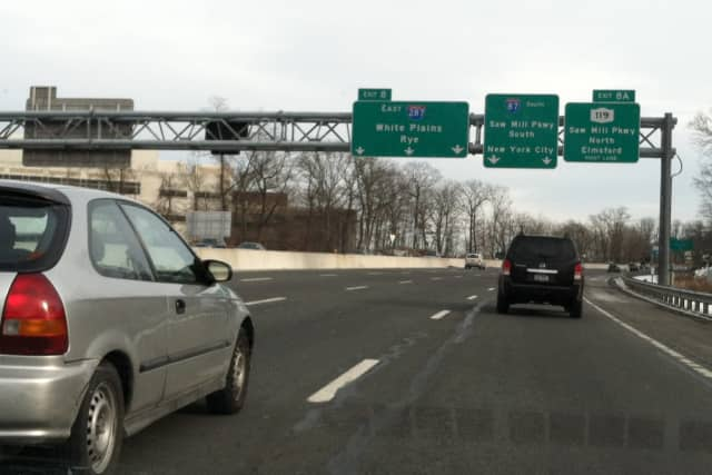 Work along I-287 in Westchester County will cause lane closures on the northbound side.