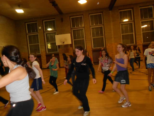 Yorktown Teen Center girls dance during 2012's Girls Only Night.