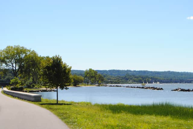 A view of Croton Landing Park near the Buchanan-Cortlandt-Croton 9/11 Memorial. The town of Cortlandt and the villages of Buchanan and Croton-on-Hudson will have a dedication ceremony Friday.