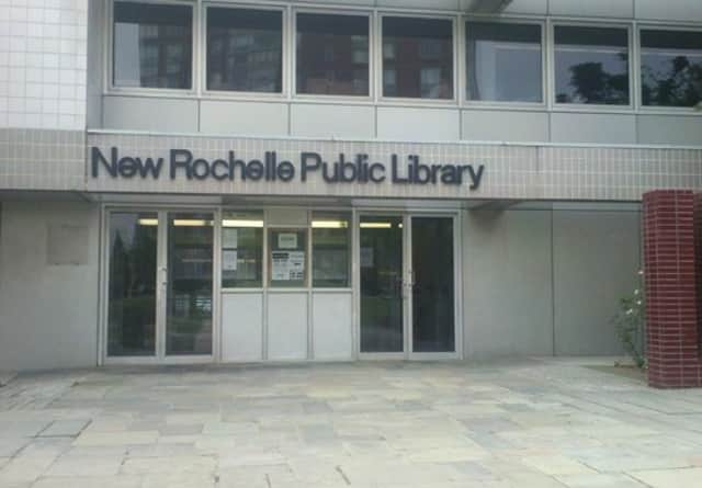 Tom Geoffino, director of the New Rochelle Library.New Rochelle Public Library, is saying thanks to three groups supporting the library.