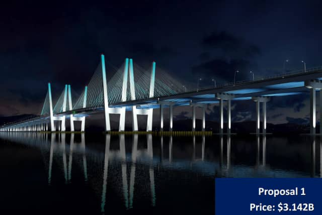 Officials will discuss the Tappan Zee Bridge design-build plan in two meetings next week.