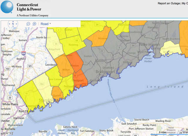 Storm Causes Few Fairfield Power Outages Fairfield Daily Voice