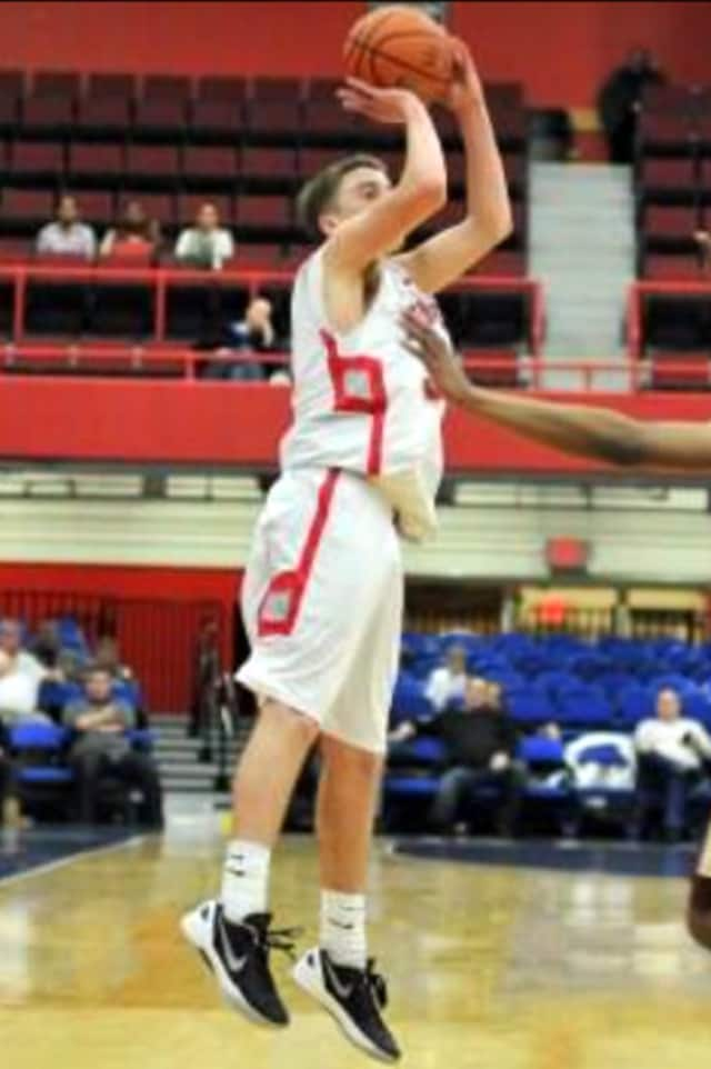Somers High School boys' basketball star John Decker is The Somers Daily Voice Athlete of the Month for January.