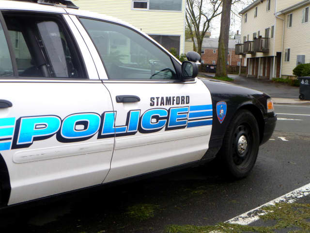 Stamford Police are investigating explosive materials found at a house on Vine Road.