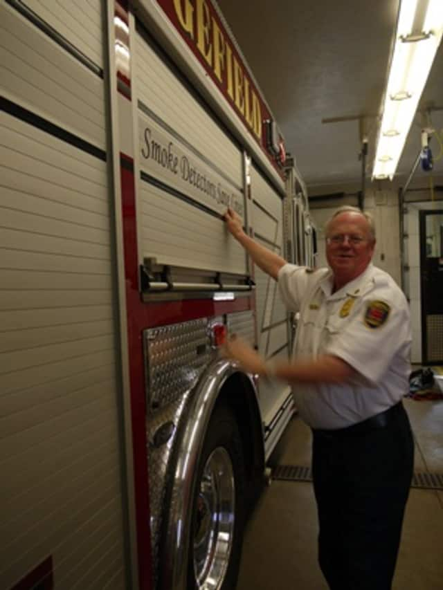 Ridgefield Fire Chief Kevin Tappe