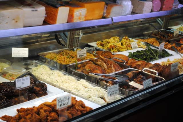 Cole's Market, pictured above, is one of many Cortlandt delis offering catering for the Super Bowl.