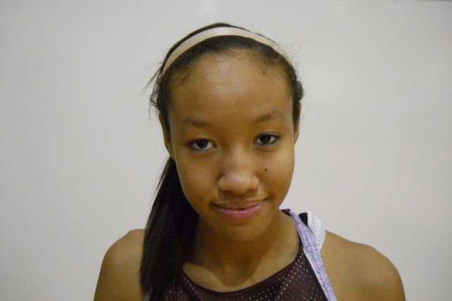 Ossining High School girls' basketball star Saniya Chong is The Ossining Daily Voice Athlete of the Month for January.