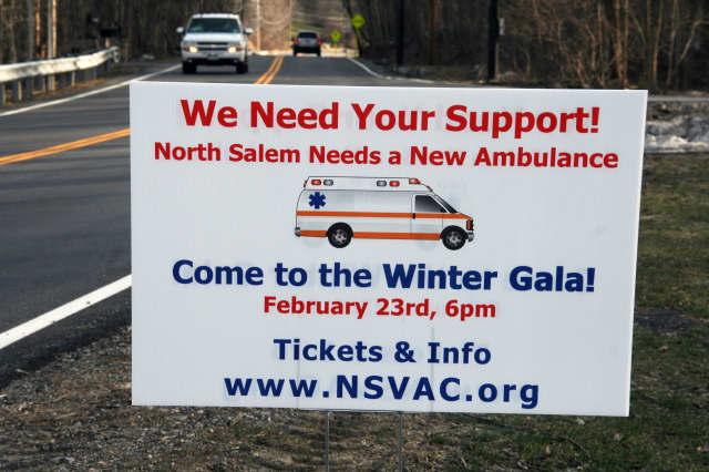 The North Salem Volunteer Ambulance Corps Gala takes place Saturday.