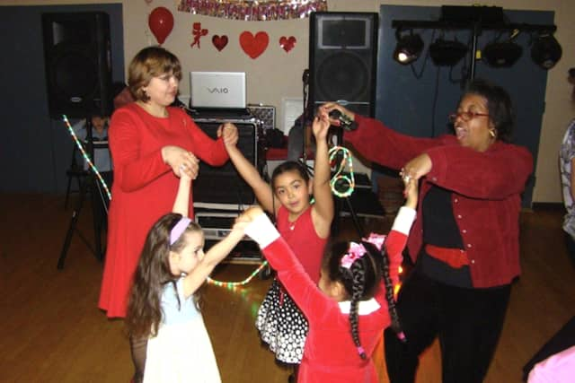 Greenburgh's Annual Parent-Child Valentine's Dance is sold out on Friday night.
