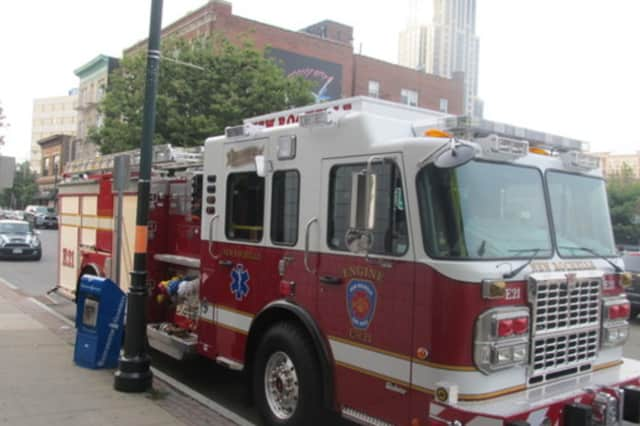 A fire inside a New Rochelle apartment building was contained to the circuit room.