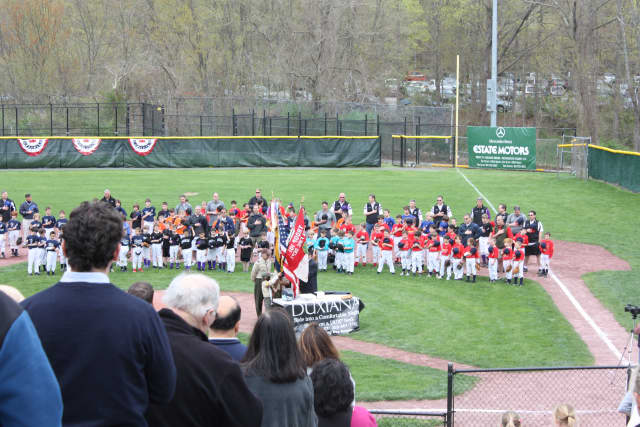Last year's opening day of the Lewisboro Baseball Association season drew a crowd to Town Park. This year's start is scheduled for April 20.