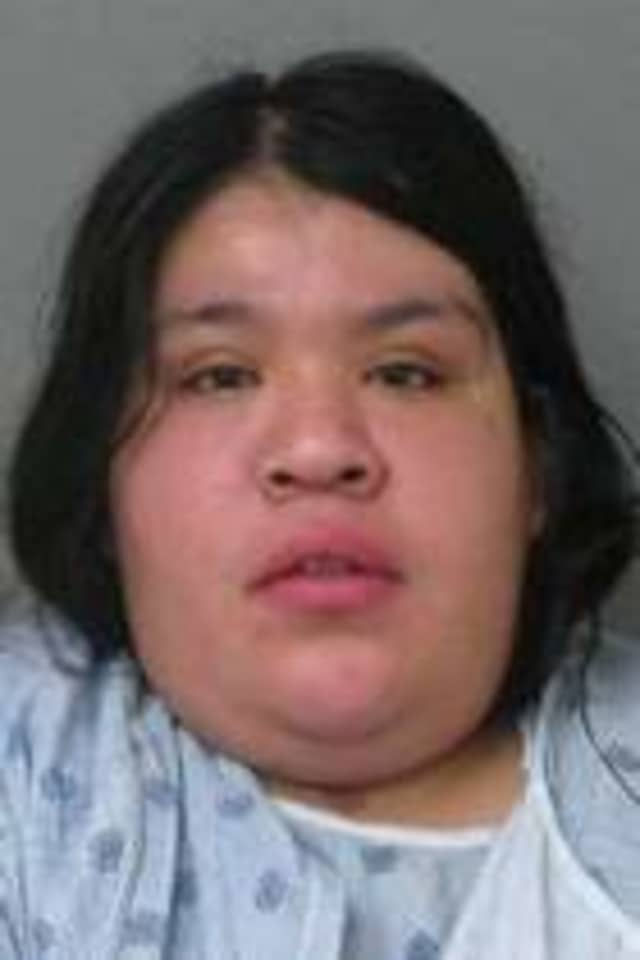 Ana T. Fuentas, 22, of Brooklyn is charged with criminal possession of stolen property after allegedly stealing a school bus in Mount Vernon on Friday.
