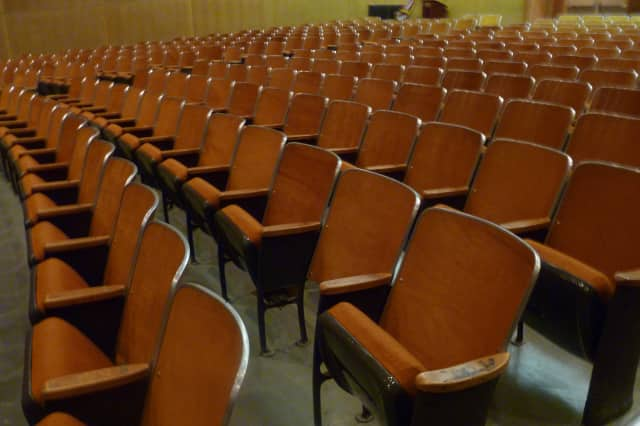 The Saxe Middle School auditorium is set to be renovated under an $18.6 million plan approved Tuesday by the New Canaan Board of Finance. The plan now moves on to the Town Council for consideration.