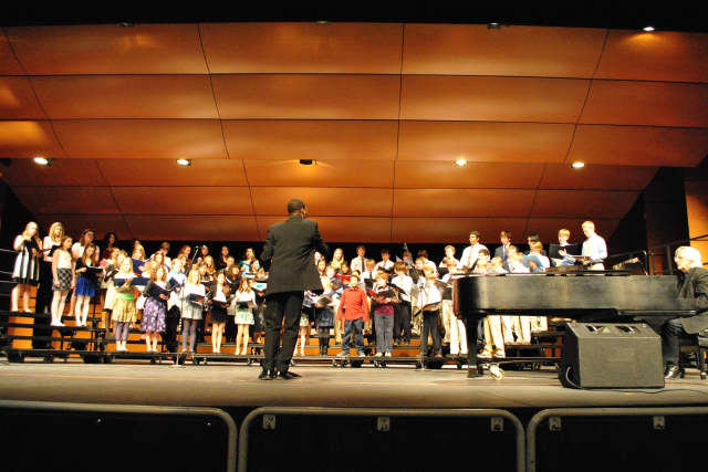 ABC of Wilton will have its fifth annual I Dream A World concert on Sunday at the Clune Center at Wilton High School. This is an image from last year's concert.