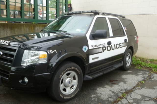 Pleasantville Police say that a man drove off with a boot attached to his car's tire after an altercation.