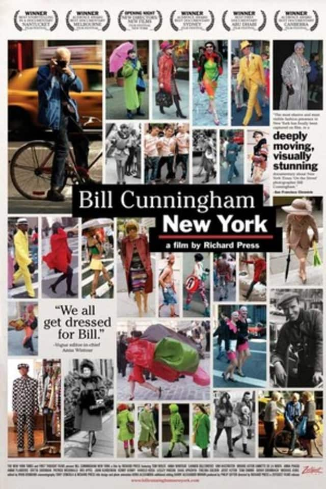 """The film """"Bill Cunningham New York"""" will be shown at the Hastings Public Library at 3 p.m. Sunday."""